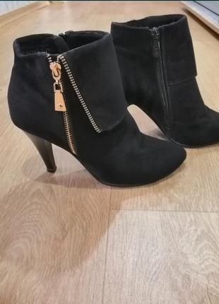 Демисезонные ботинки 38р