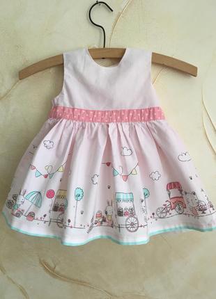 Платье 0/3 месяца