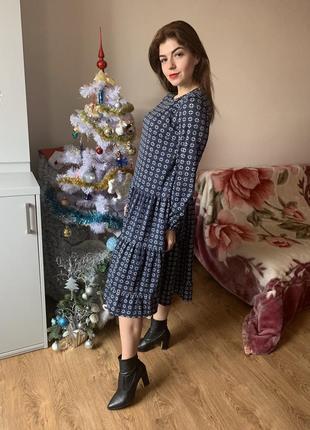 Платье свободного кроя. классичиское и стильное