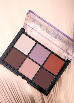 Акция! палетка теней nyx professional makeup lid lingerie shadow palette