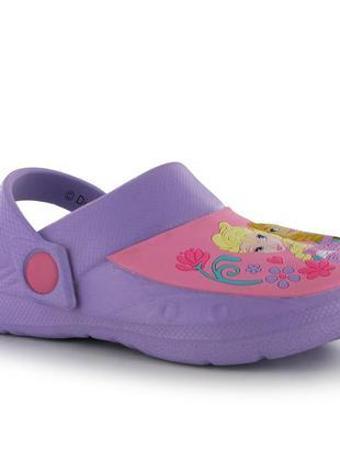 Character disney frozen сандалии для девочки/детские кроксы