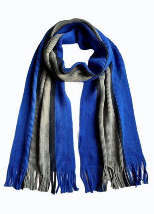 Мужской трикотажный шарф c&a, 26*182 см.