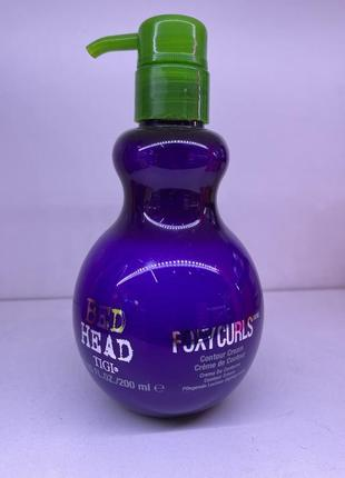 Tigi крем для кучерів bed head foxy curl 200ml
