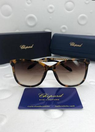 Женские солнцезащитные очки в стиле chopard🔥lux lux