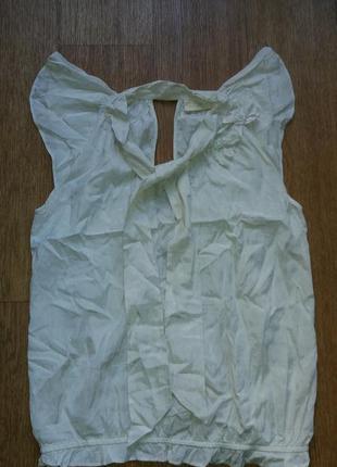 Блузочка нарядная вискоза -коттон