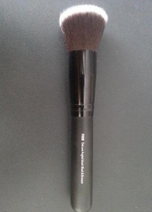 Кисть для макияжа shany f 008 deluxe angled blush - blush & bronzer