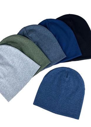 Мягкая шапка трикотаж ◽️ весна 🌸 двойная◽️ топ продаж 🔝 качество 🚀