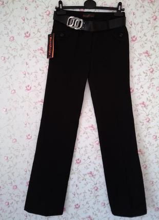 Штаны брюки классика черные, теплые.
