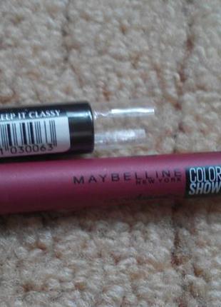 Помада олівець від maybelline new york