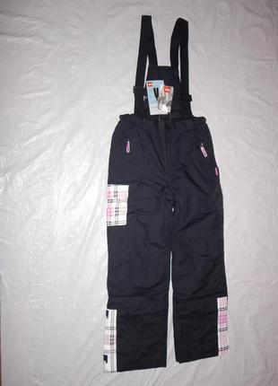 Р-ры. 146-164 новые лыжные штаны полукомбинезон мембранный nkd, германия