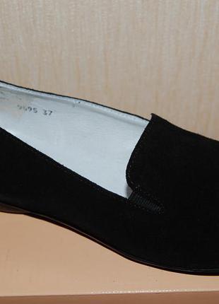 Акция. новые полностью кожанные замшевые туфли golderr р. 36-40