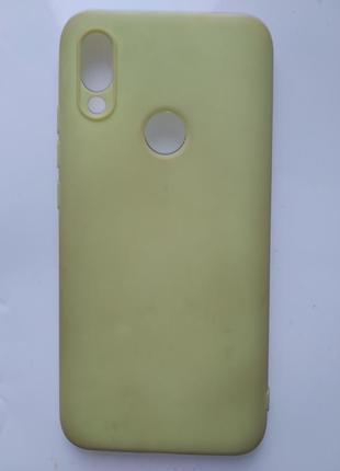 Чехол для телефона редми мягкий redmi 7