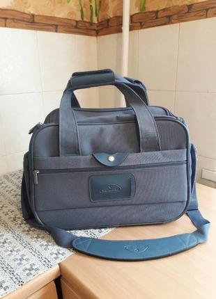 Брендовая добротная сумка дорожная спортивная чемодан samsonite