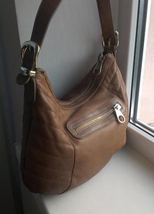 Кожаная сумка ted baker