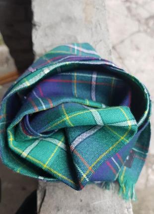 Тоненький шерстяной шарф ingles buchan шотландия