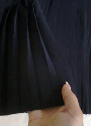 Шикарная юбка плиссе дорогой бренд