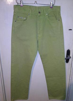 Классные,зауженные брюки-джинсы