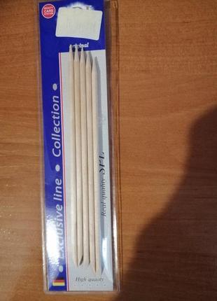 Палочки бамбуковые для маникюра