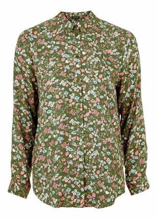 Милая вискозная рубашка topshop