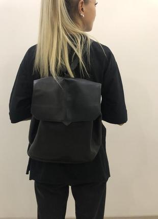 Черный рюкзак pull&bear