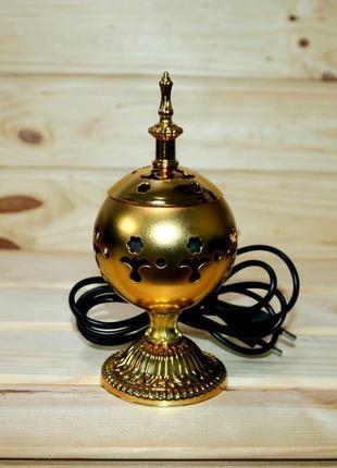 Бахурница электрическая в золоте