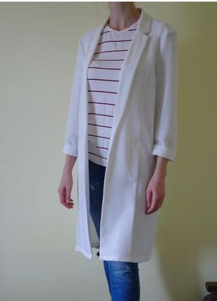 Удлиненный блейзер жакет пиджак