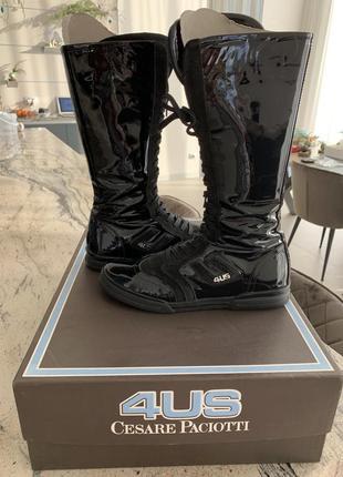Высокие ботинки/кеды 4us