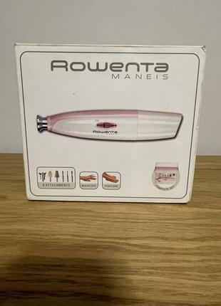 Аппарат для домашнего маникюра и педикюра rowenta