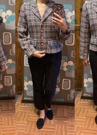 Очень красивый шерстяной жакет пиджак в стиле chanel images