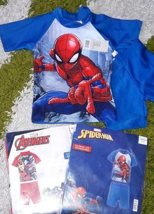 """Пляжний костюм """"захист від сонця"""", """"spiderman"""" marvel, р. 86-116."""