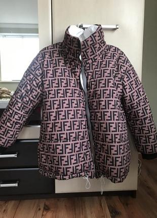 Двухсторонняя куртка фенди