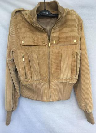 Куртка укорочённая велюровая
