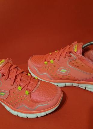 Skechers flex sole 40р. 25.5см кросівки жіночі для бігу та тренувань1 фото