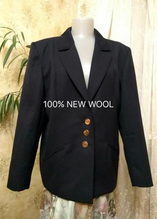Weill-франція актуальний жакет піджак вовна шерсть з кишенями золоті гудзики