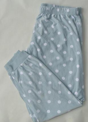 Пижамные штаны плюш-велюр primark love to lounge англия л, хл