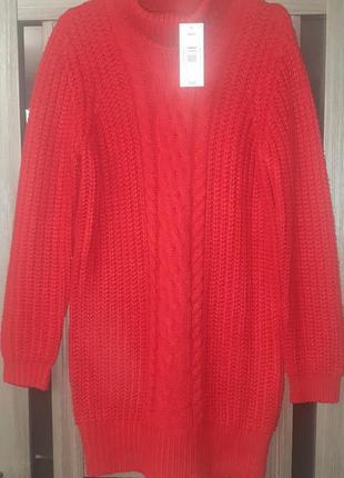 Стильный новый свитер-платье 🌹