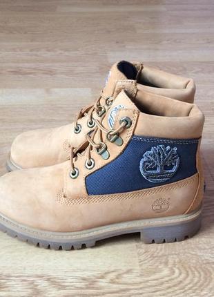 Кожаные ботинки timberland оригинал 33 размера в состоянии новых