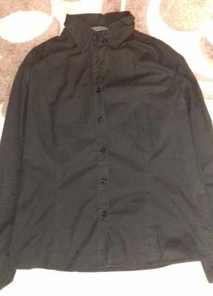 Рубашка черного цвета montego