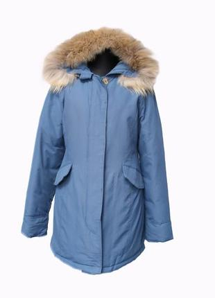 Куртка аляска с натуральным мехом