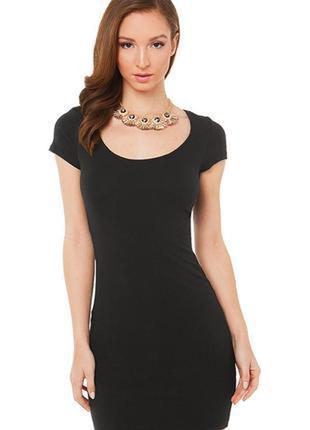Купить базовое черное платье