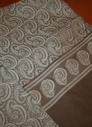 Итальянский мужской элегантный шарф