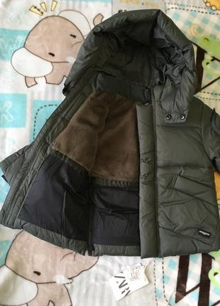 Zara куртка-пуховик