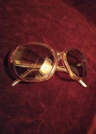 Очки солнцезащитные, стиль ретро. франция.