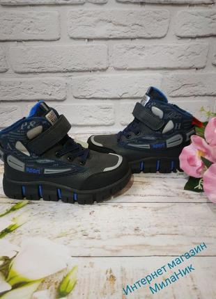 Демисезонные ботинки на мальчика 27-32