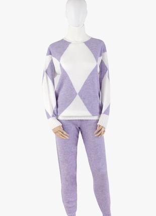 Женский трикотажный костюм - 2 цвета