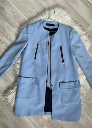 Куртка зара удлиненная