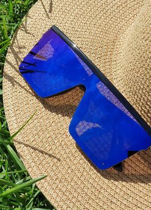 Очки маска солнцезащитные женские