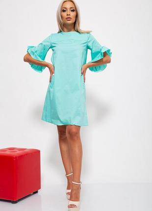 Платье, s-m-l, 150r522, платьице, сарафан с рюшами, с воланом
