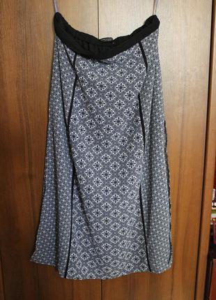 Dorothy perkins длинная юбка в принт