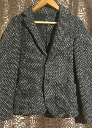 Шерстяной пиджак для подростка zara man